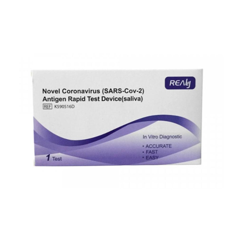 REALY SARS-COV-2 antigeeni kiirtest koduseks kasutamiseks (süljest)